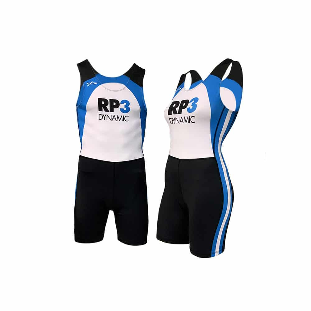 RP3 Rowing Suit Male Female Front